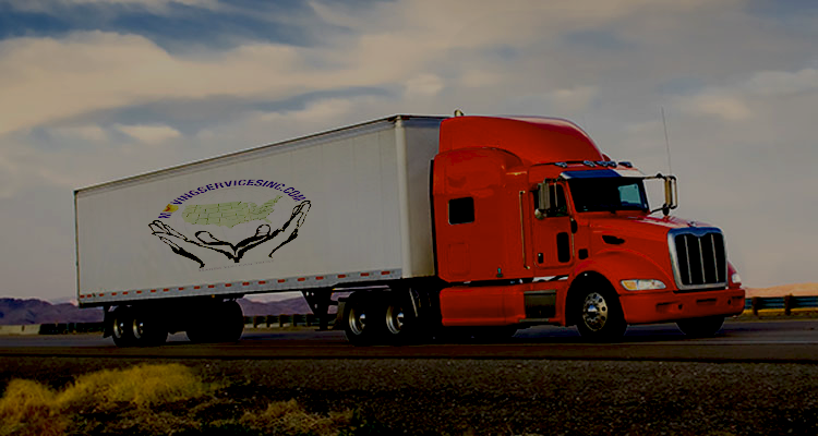Moving Services Group Truck